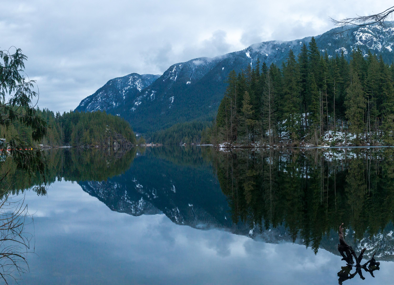 Buntzen Lake panorama