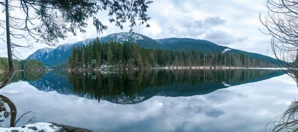 Buntzen Lake panos