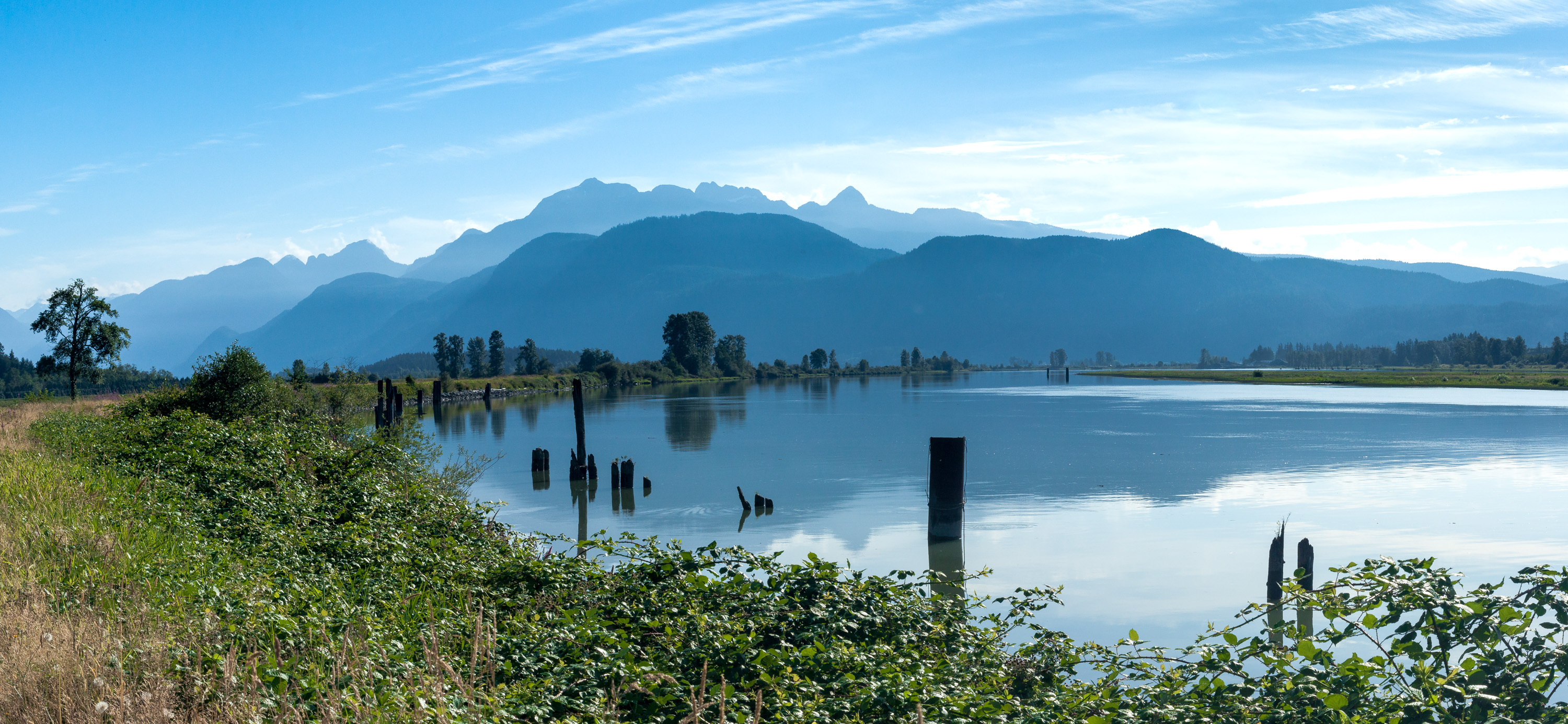 DeBoville Slough and Mts